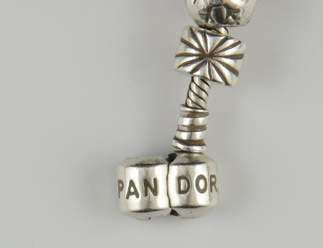 Pandora Charm Necklace and 3 Bracelets - 4