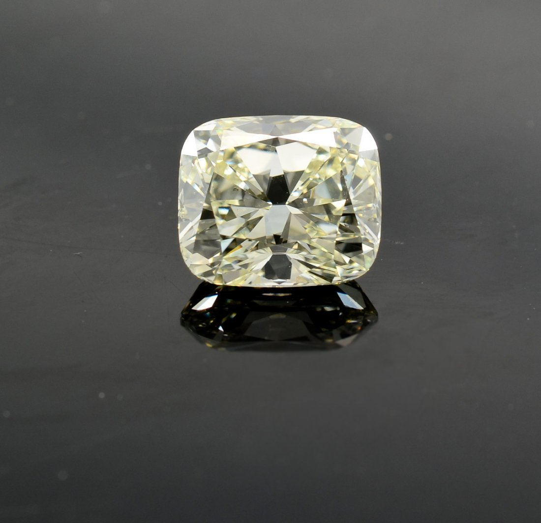 Loose Diamond 2.74 Carat Cushion Cut