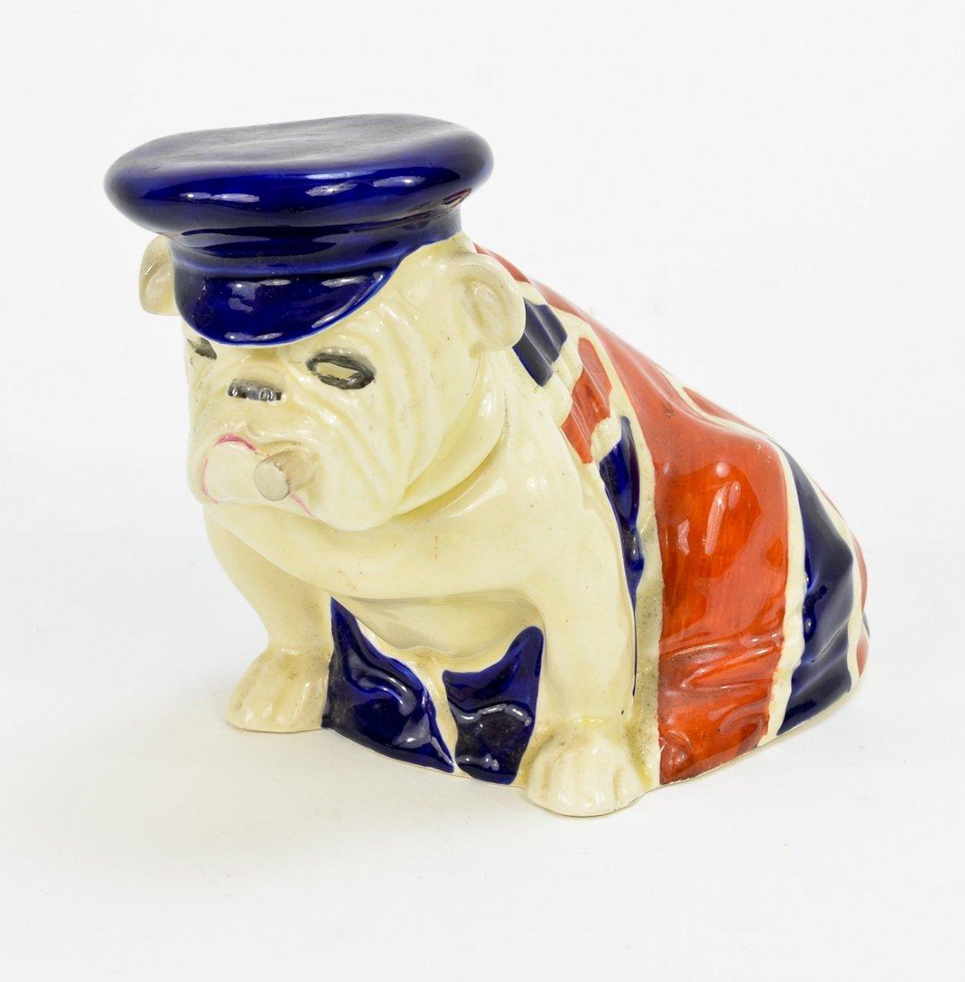 Royal Doulton Ceramic Cigar Smoking Bulldog