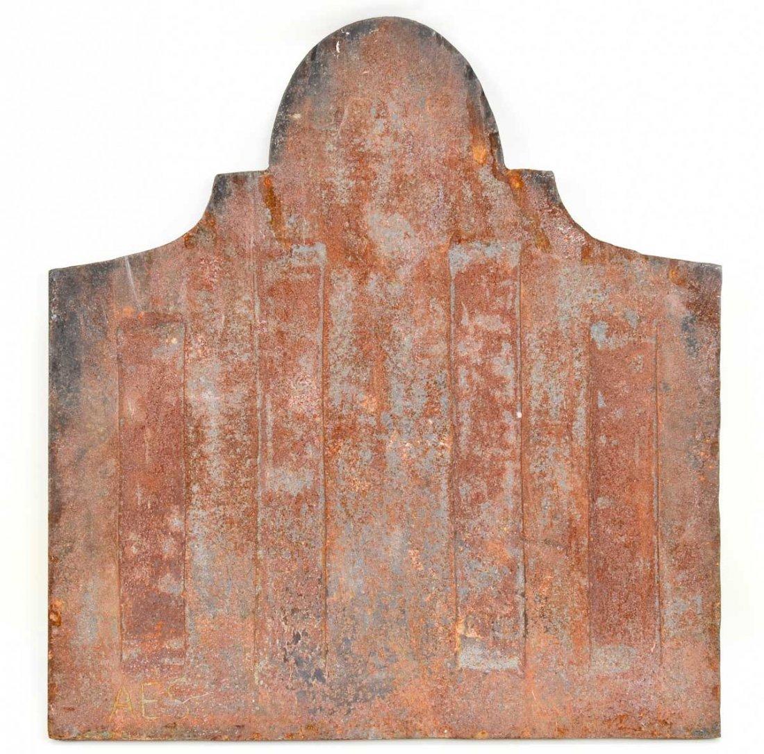 Cast Iron Fireback Dated 1781 - 2