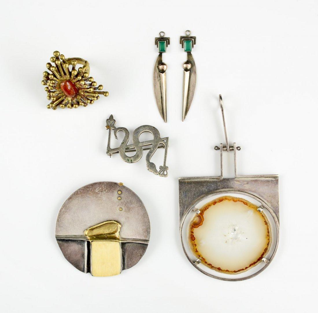 Group of Modern Jewelry