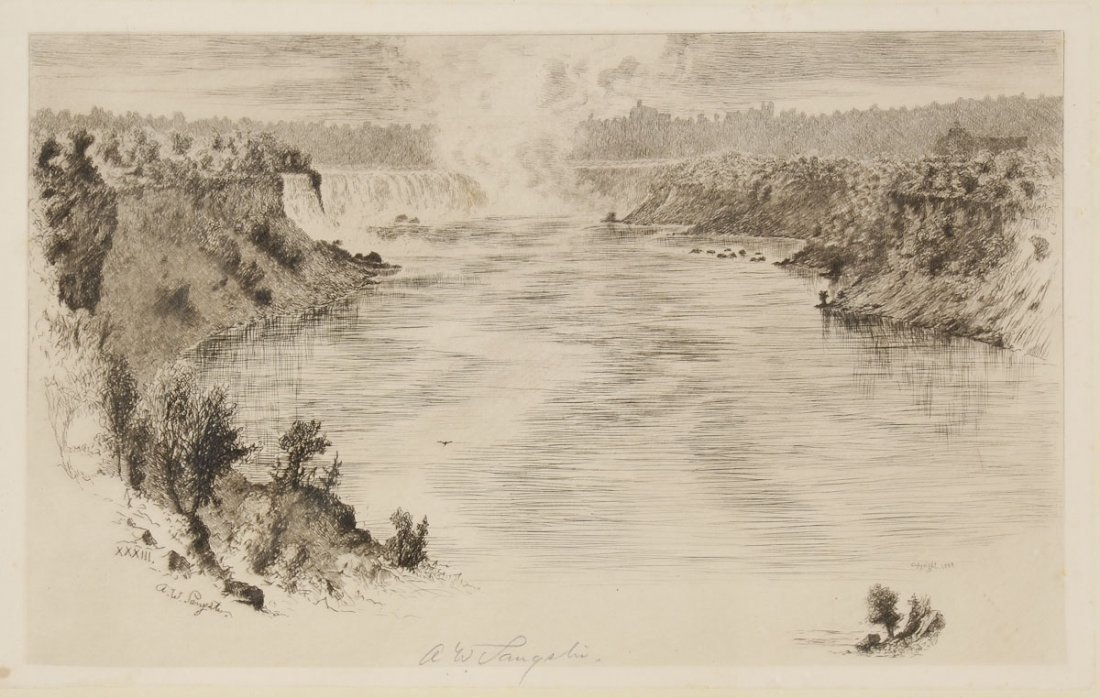 Prints of Niagara Falls - 2