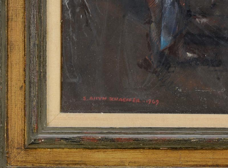 S. Allyn Schaeffer Pastel - 3