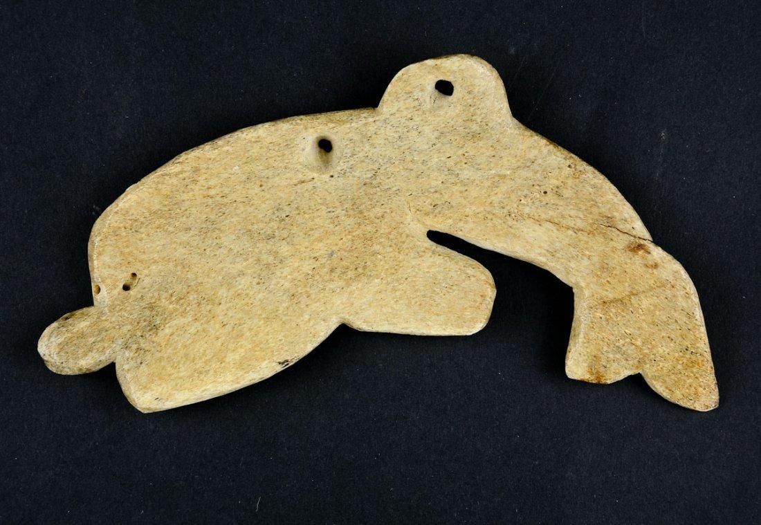 Northwest Coast carved Bone Fish - 2