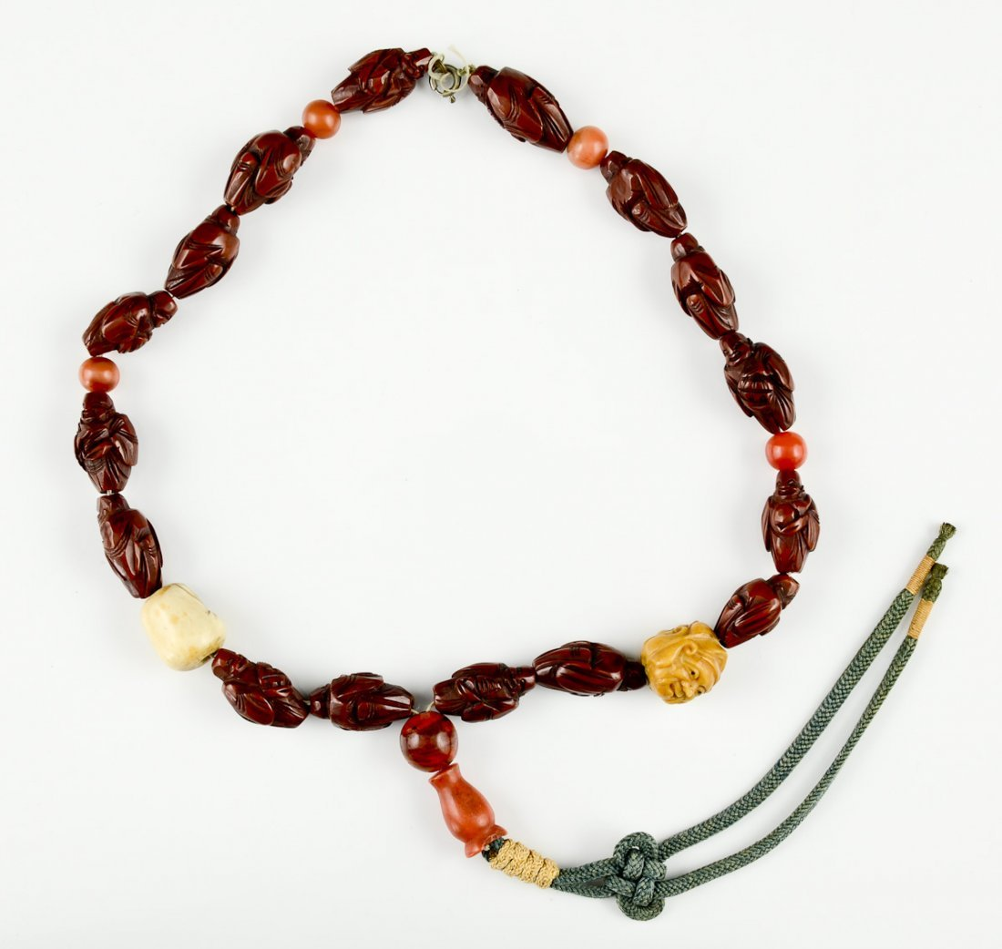 Asian Buddhist Prayer Beads