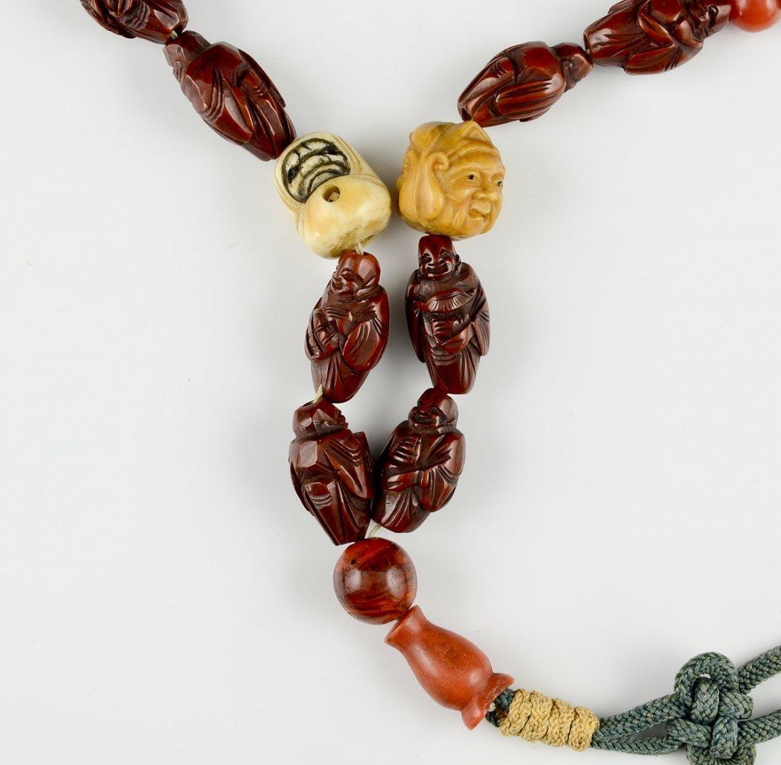 Asian Buddhist Prayer Beads - 2