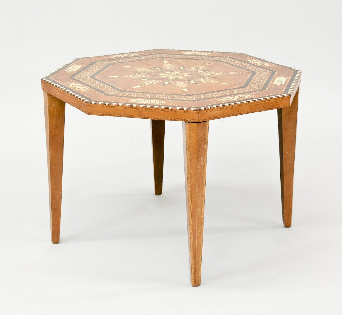 Moroccan Inlaid Table