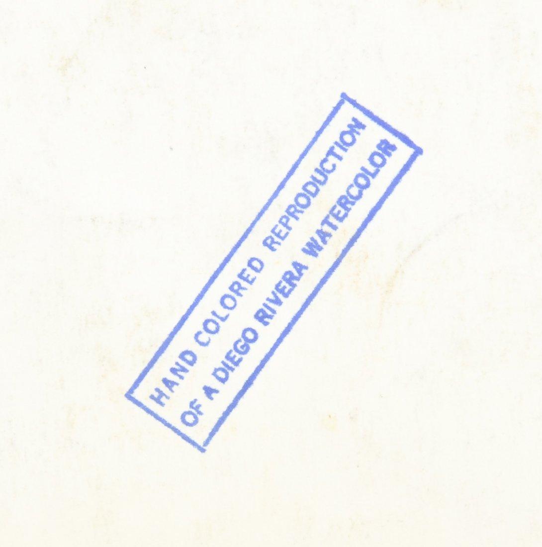 Diego Rivera Lithograph - 3