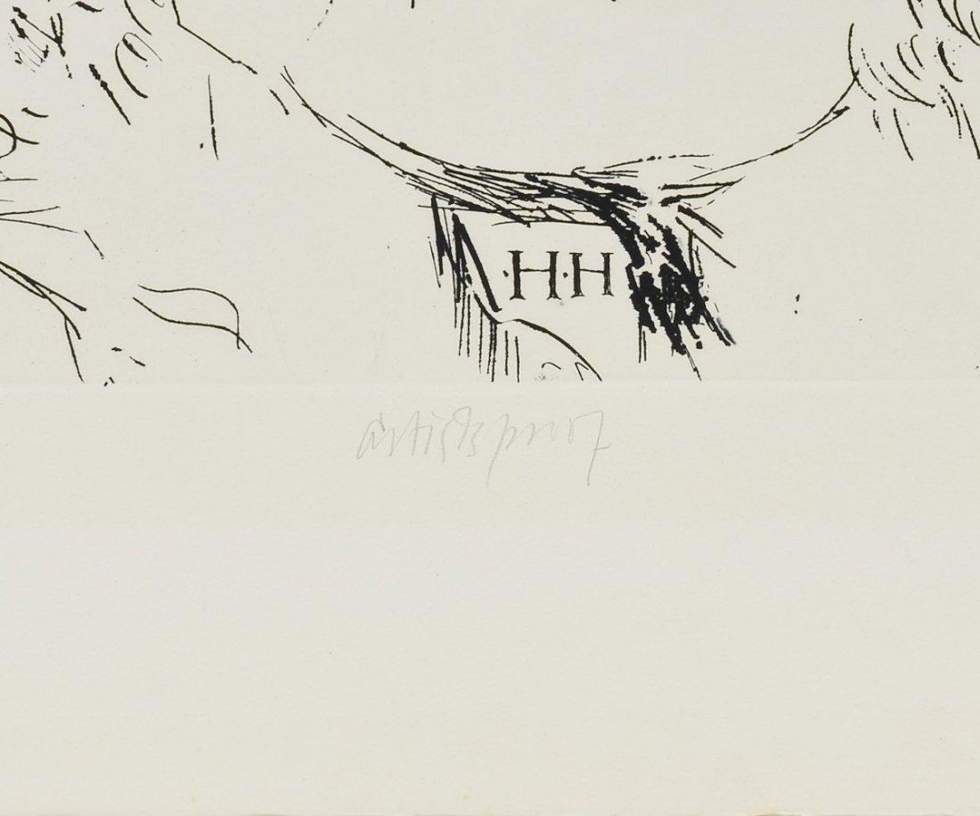 Leonard Baskin Woodcut Print - 3