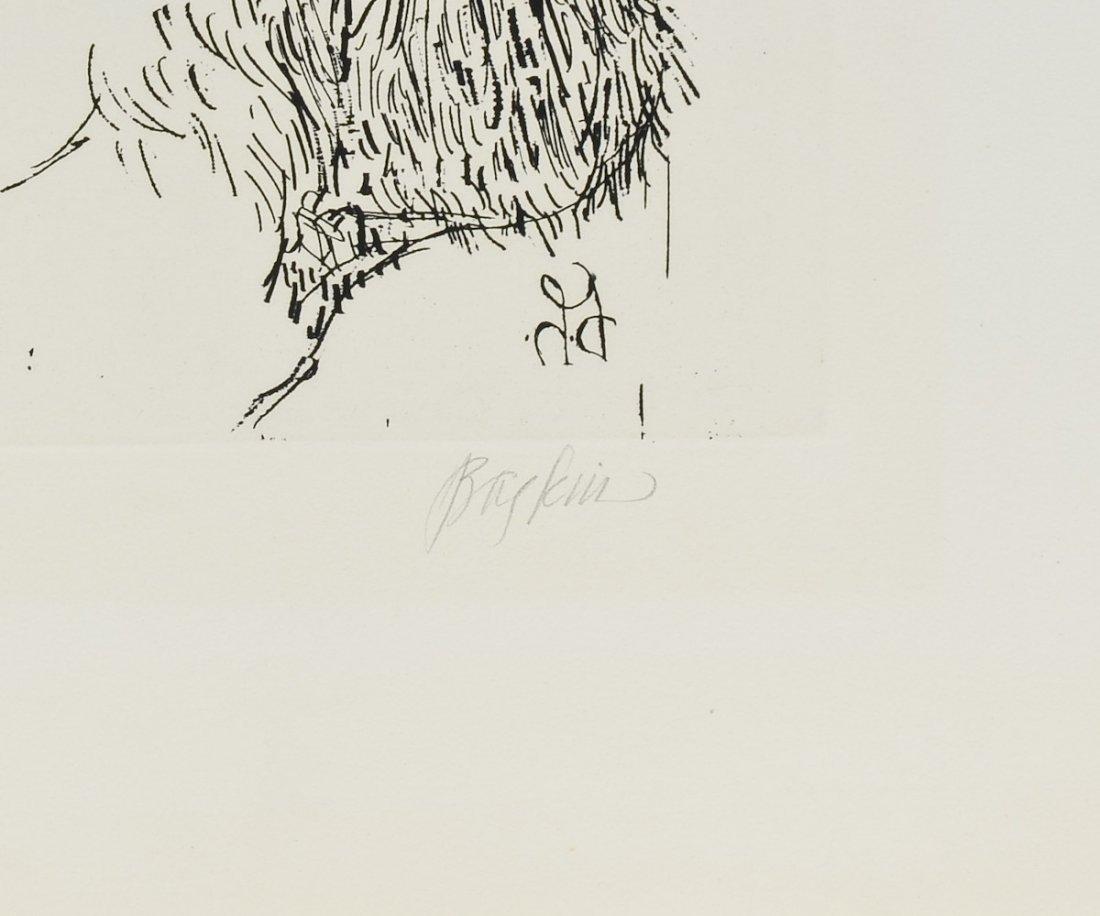 Leonard Baskin Woodcut Print - 4