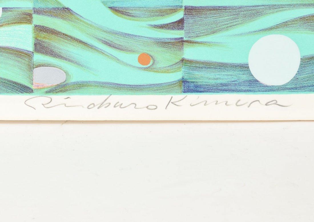 """Risaburo Kimura """"Geneva"""" Silkscreen Print - 3"""