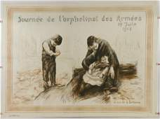 Large French World War One Poster