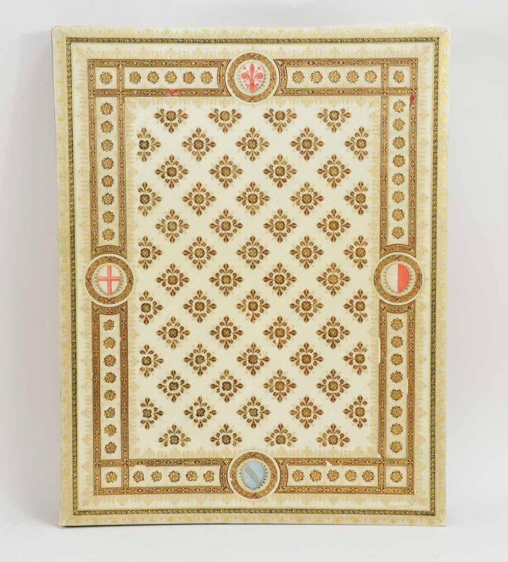 Gilt and Paint Decorated Vellum Folio