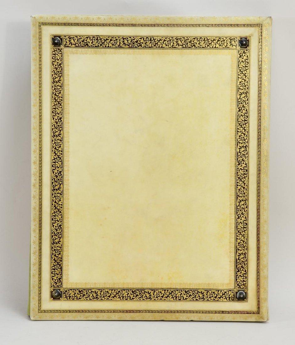 Gilt and Paint Decorated Vellum Folio - 3