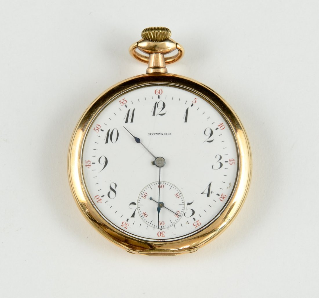 Mens 17 Jewel Pocket Watch
