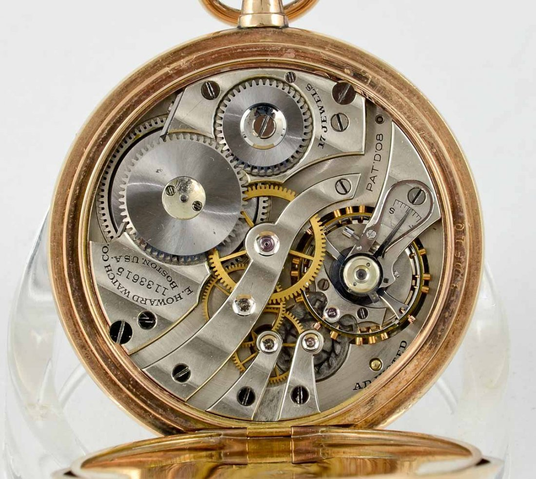 Mens 17 Jewel Pocket Watch - 5