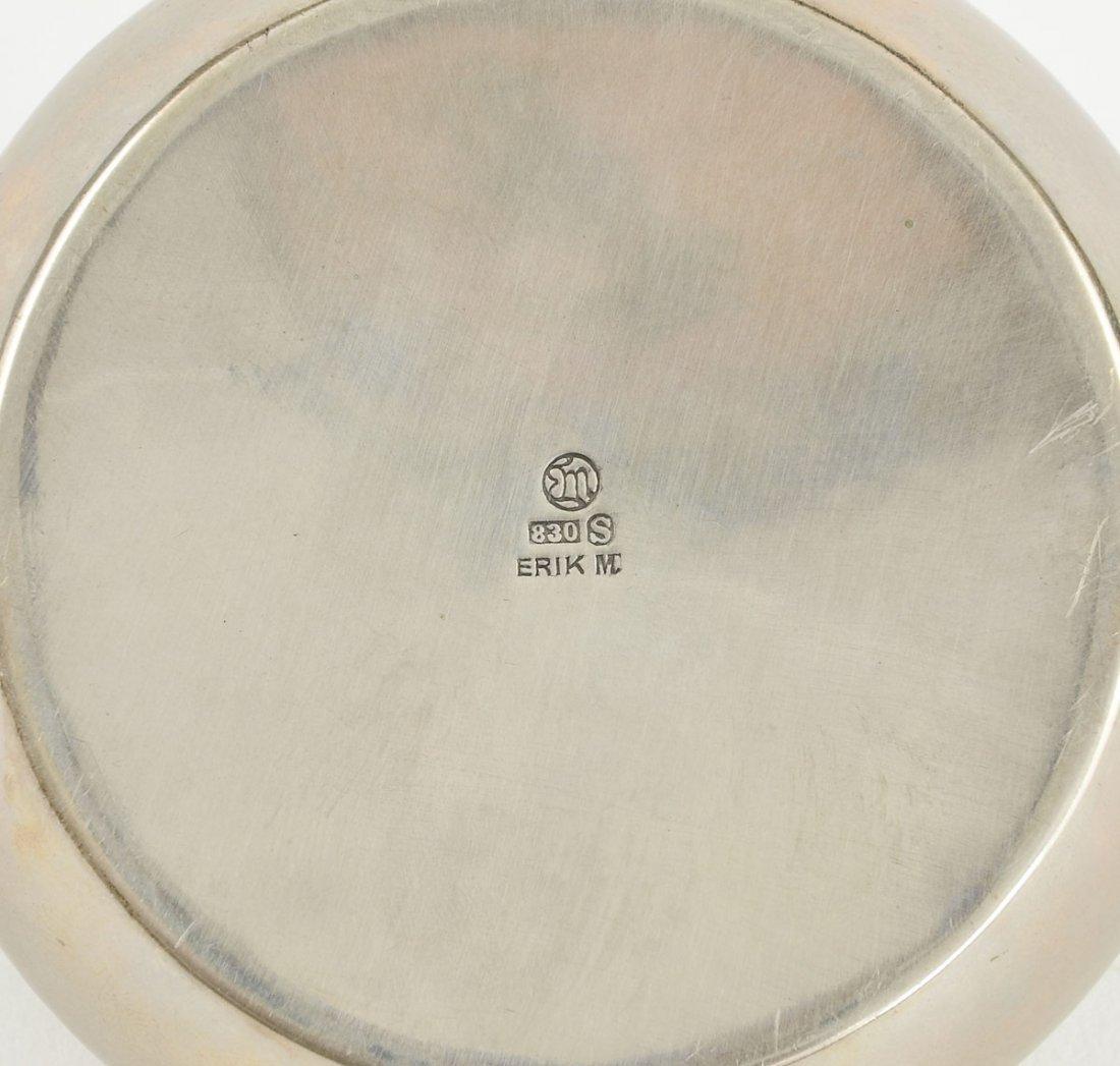 Danish Silver Round Box - 3