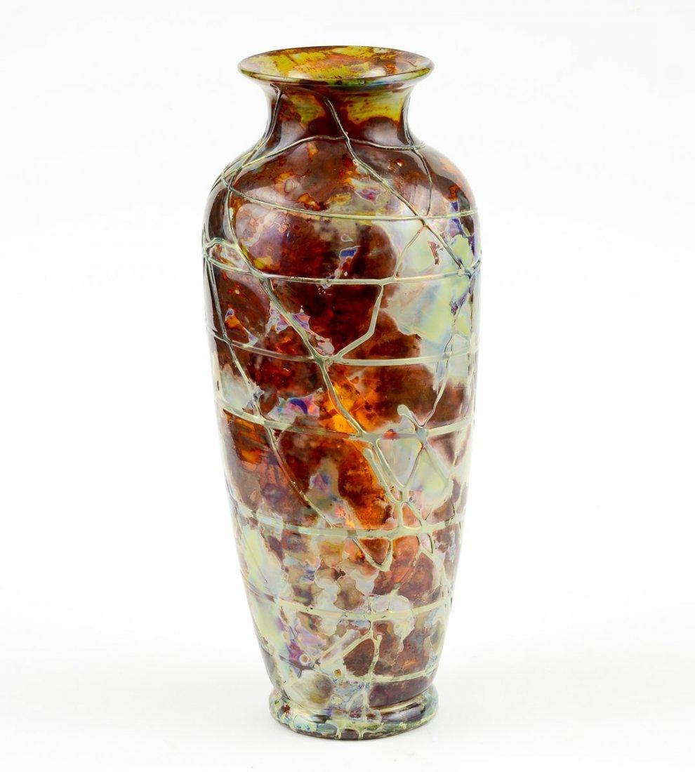 Knieck Boudnik Art Glass Vase