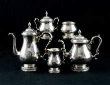 International Prelude Sterling Silver Tea Service