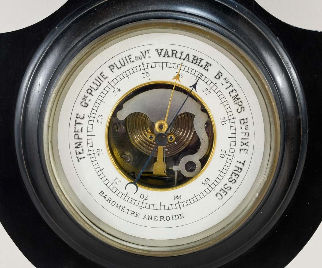 Antique French Barometer - 3