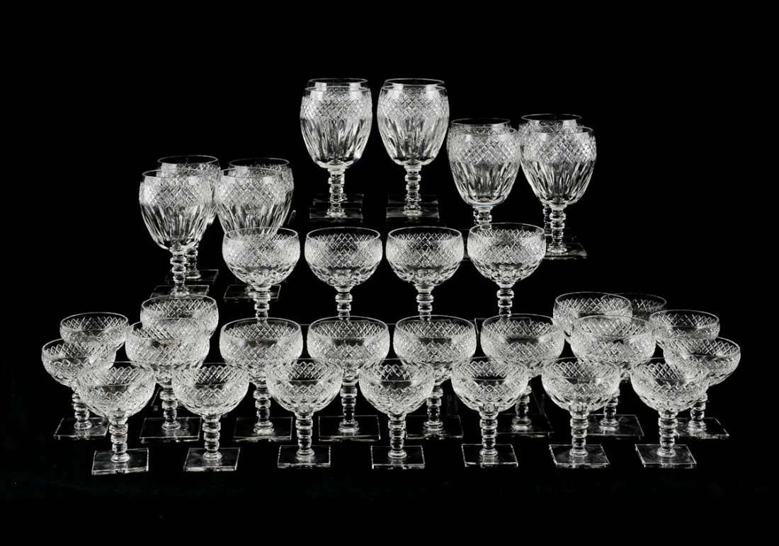 Hawkes Donisel Crystal Stemware Set