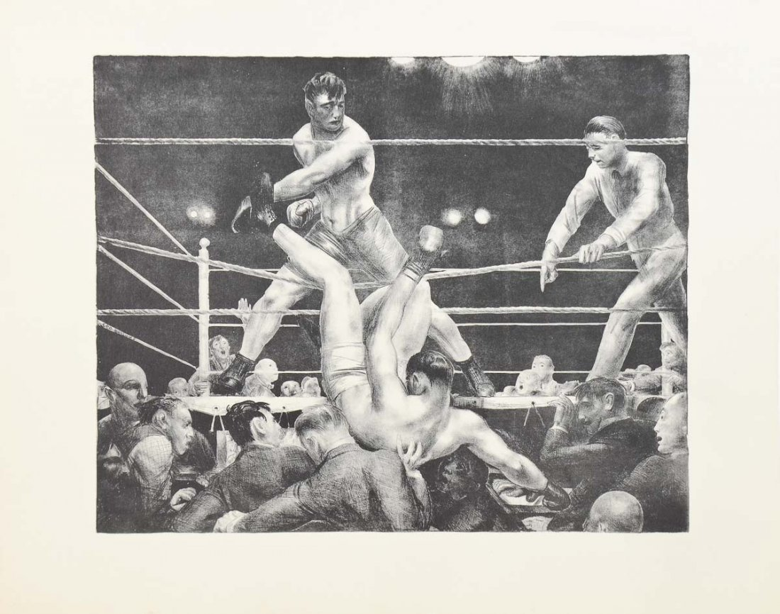 George Bellows: Dempsey and Firpo
