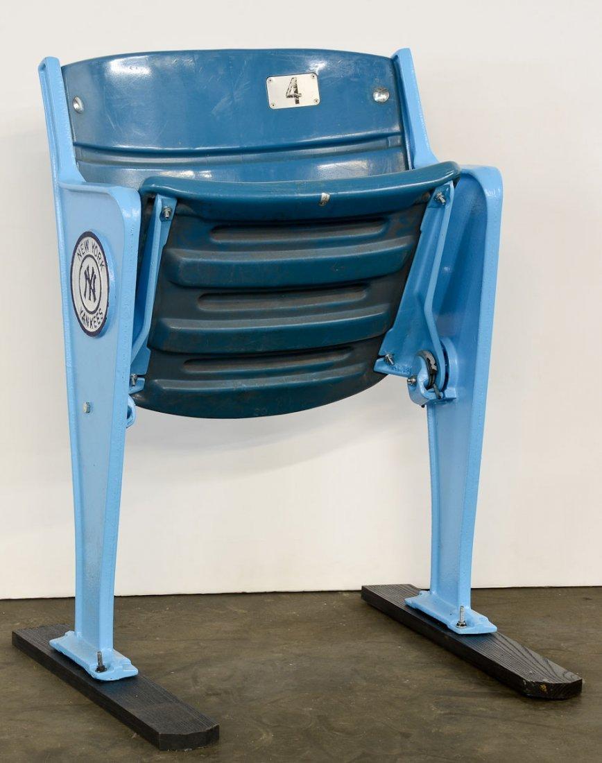 An Original Yankees Stadium Seat