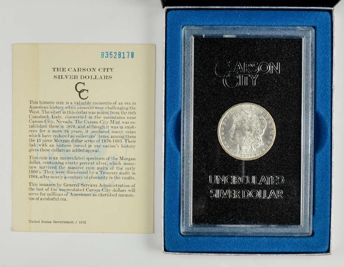 1883-CC UNC Morgan Silver Dollar