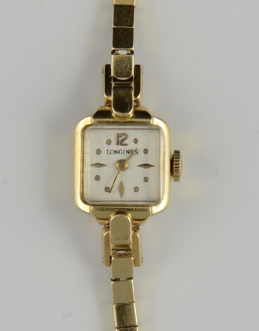 Ladies 14K Longines wrist watch