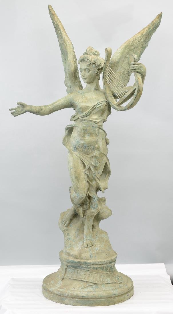Life Size Bronze Garden Sculpture