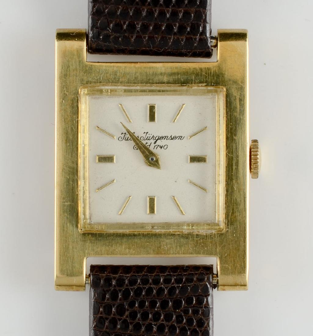 Men's 18k Jules Jurgensen Wrist Watch