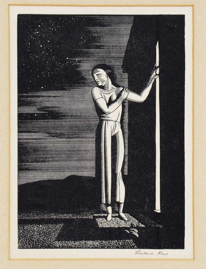 Rockwell Kent: Starry Night