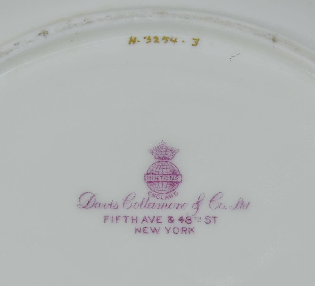 12 Mintons Cobalt Porcelain Plates - 3