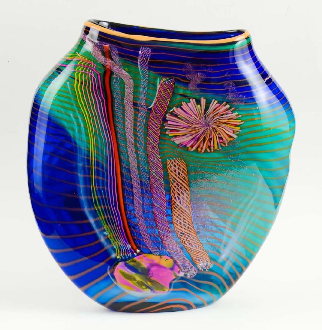 Hawthorne & Nowak Art Glass Vase