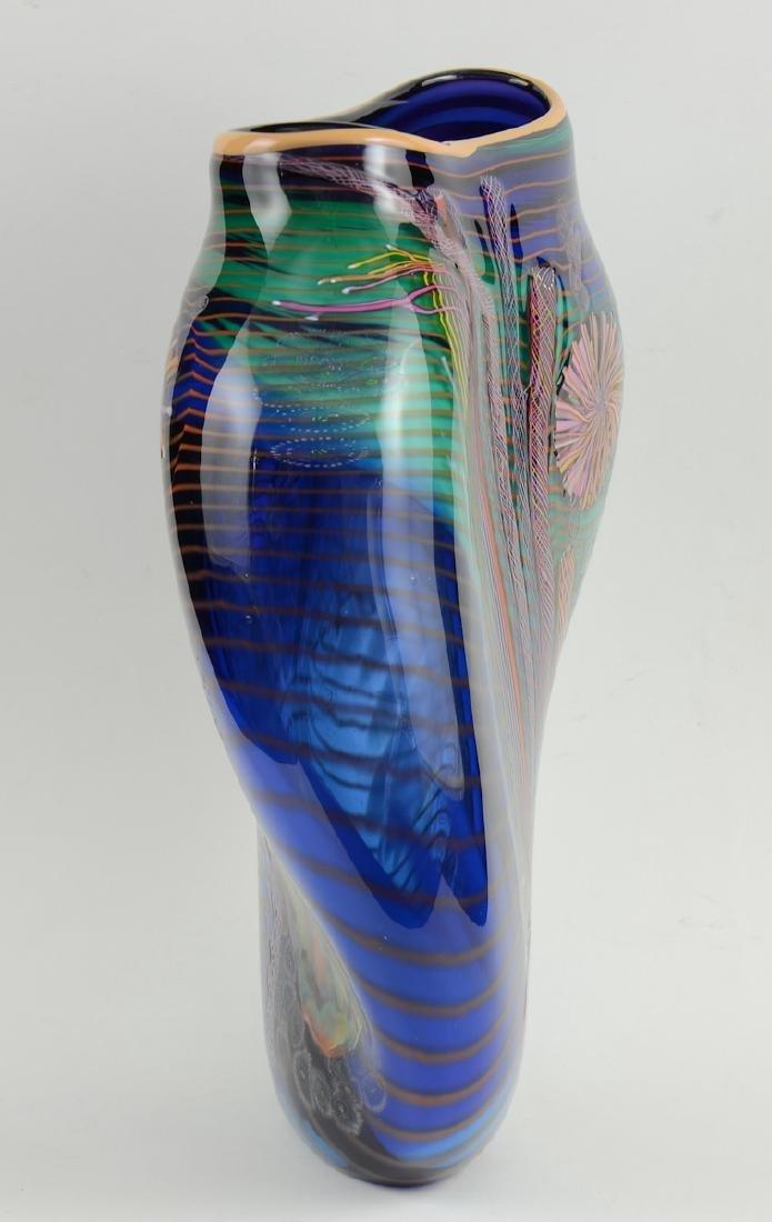 Hawthorne & Nowak Art Glass Vase - 2
