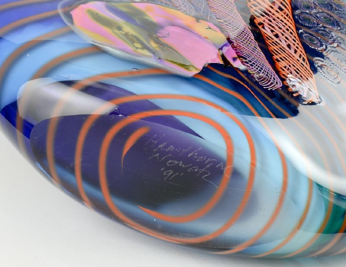 Hawthorne & Nowak Art Glass Vase - 5