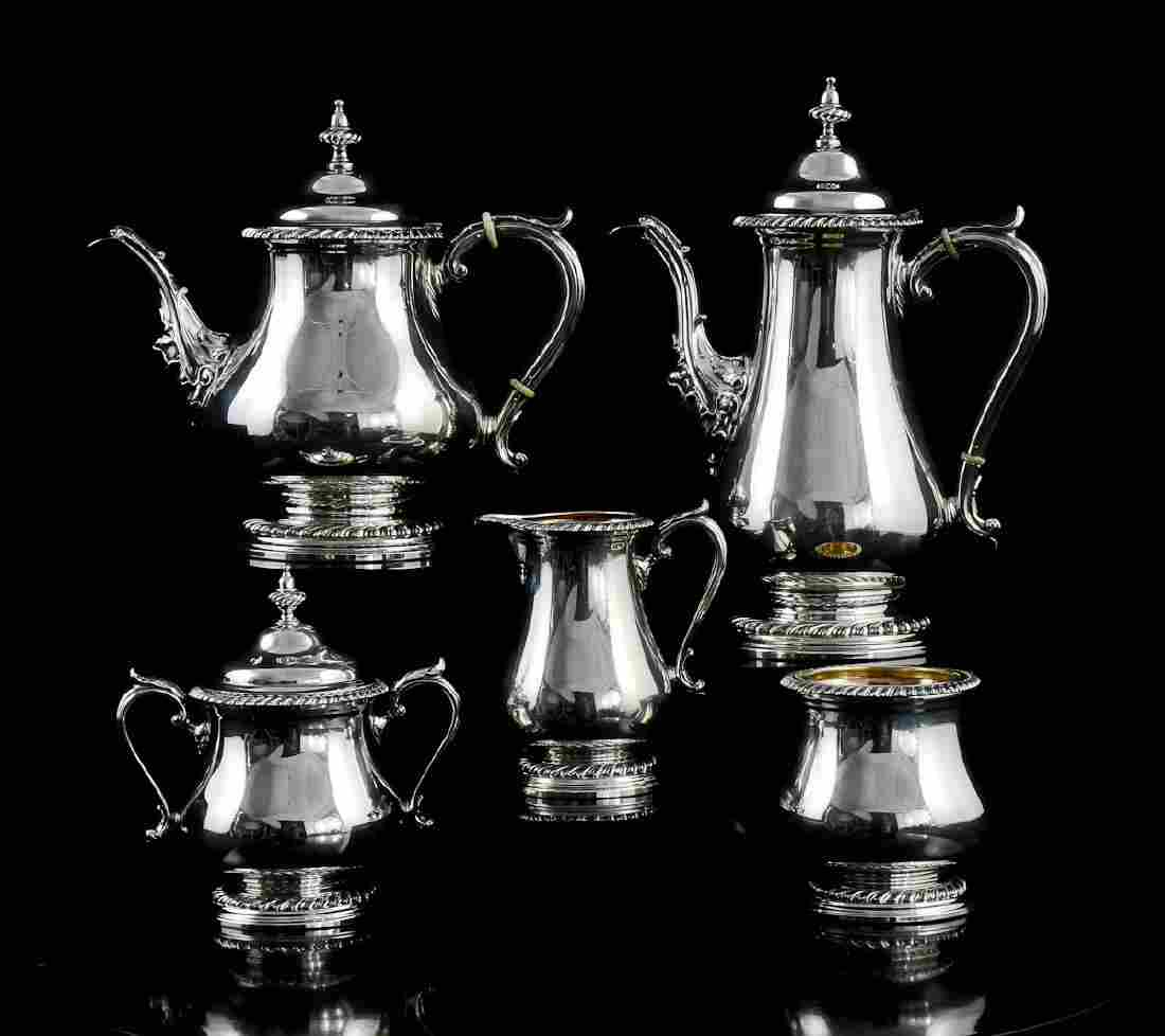 Sterling Silver Coffee & Tea service