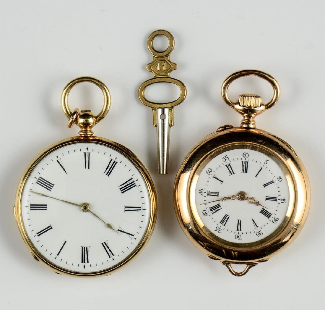 2 Ladies Pocket Watches