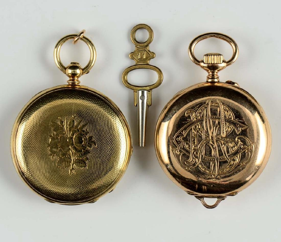 2 Ladies Pocket Watches - 2