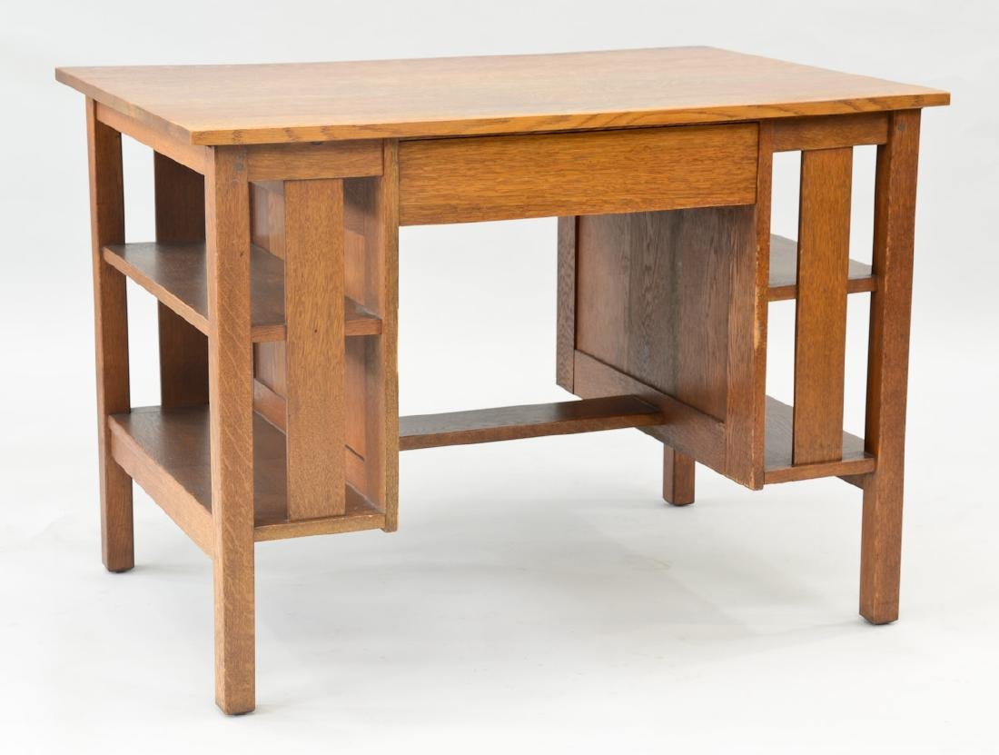 Stickley Brothers Oak Desk