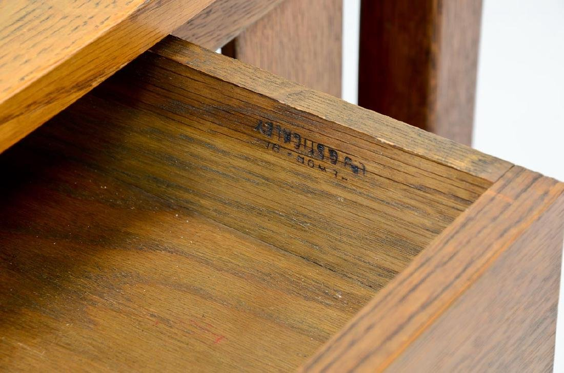 Stickley Brothers Oak Desk - 2