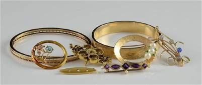 Group of Ladies 14K Jewelry