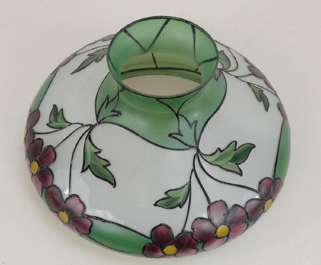 Handel Painted Glass Lamp Shade - 2