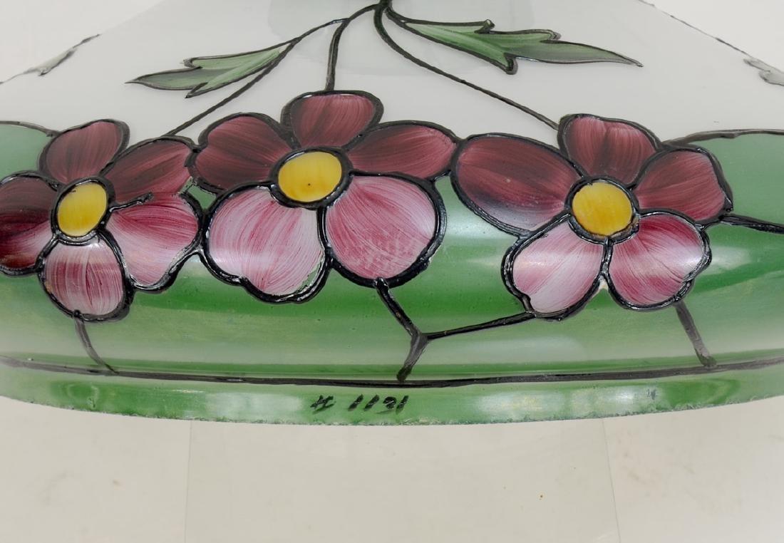 Handel Painted Glass Lamp Shade - 3
