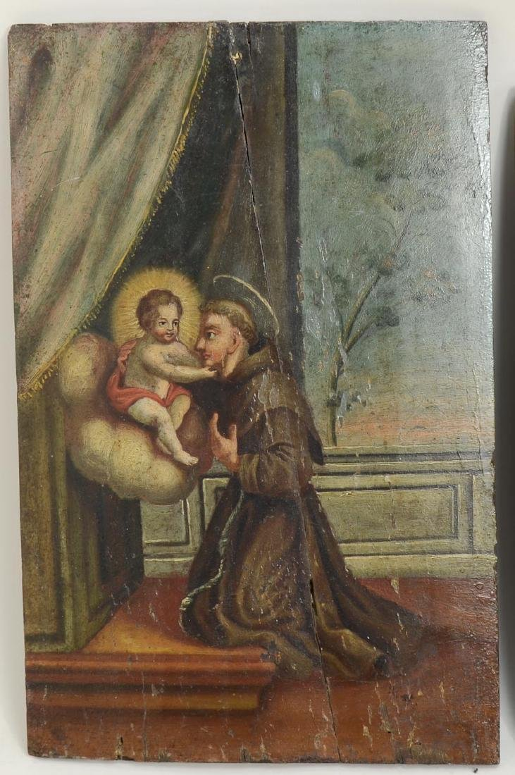 Two Religious Paintings - 2