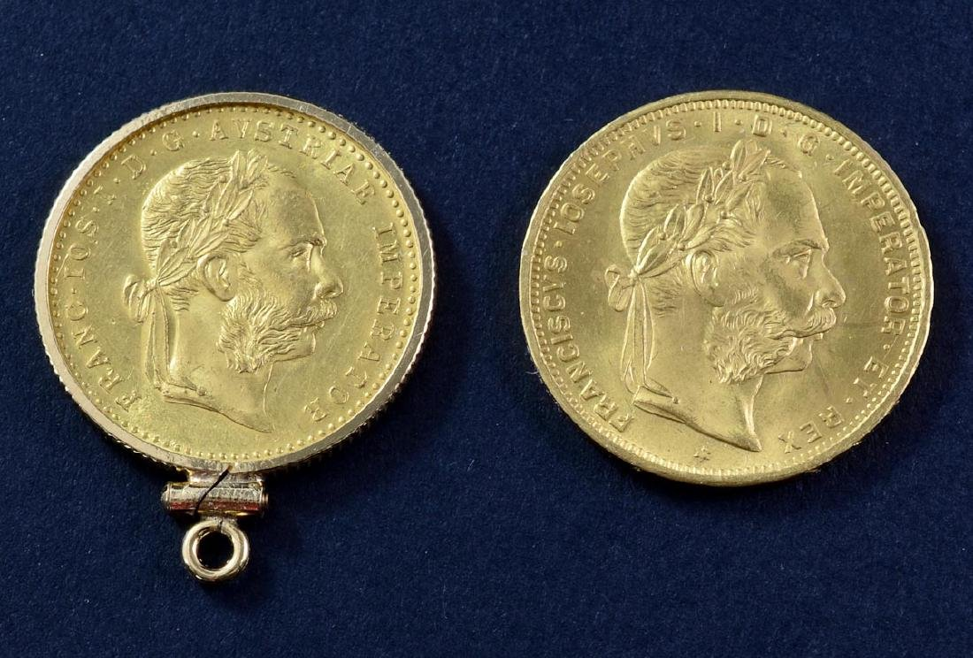 Two Austrian Gold Coins