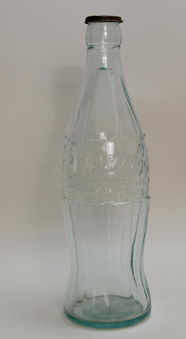 Large Coca Cola Advertising Bottle