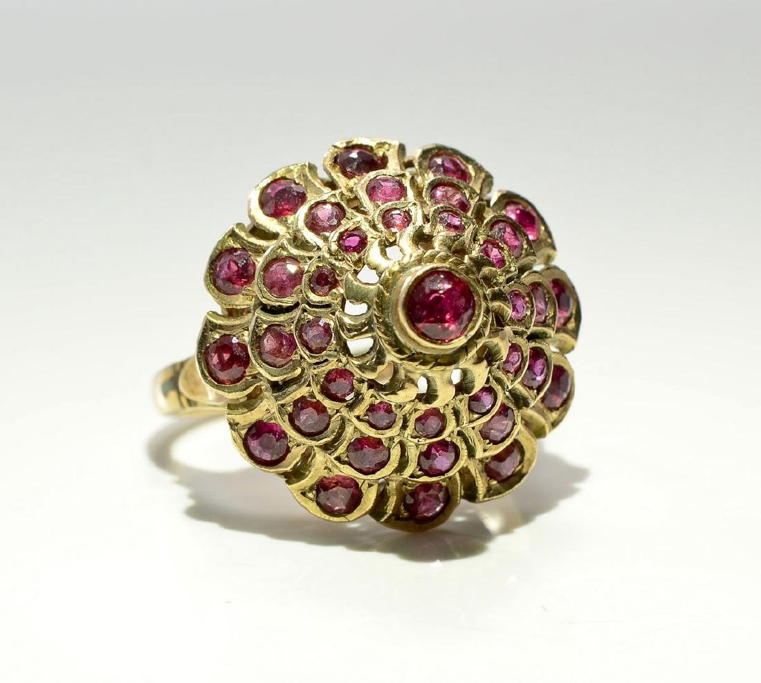 Ladies 14K Ruby Ring