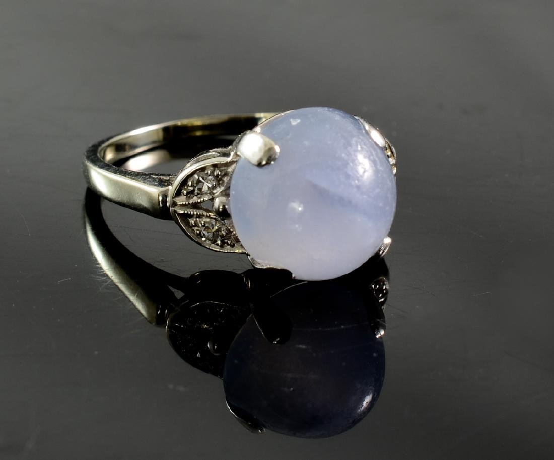 Ladies 14K Star Sapphire Ring