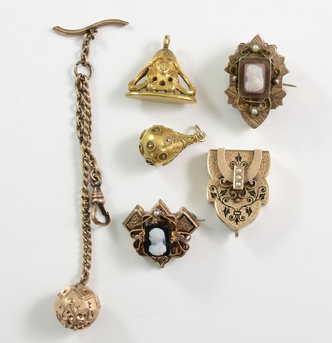 Victorian Watch Fob Group